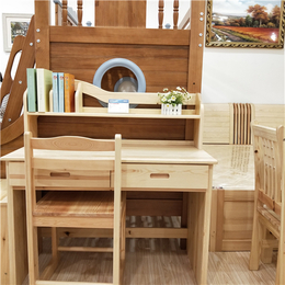南昌松木方桌定制 长方形简约现代家具桌椅 学习桌