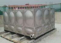 不锈钢水箱的使用已成环保发展趋势