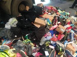 保税区次品服饰鞋子销毁处理 宝山区库存服饰服装销毁步骤