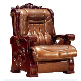 天宏智能老板椅总裁椅经理椅高端牛皮椅