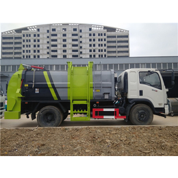一辆能拉10吨餐余垃圾运输车价格