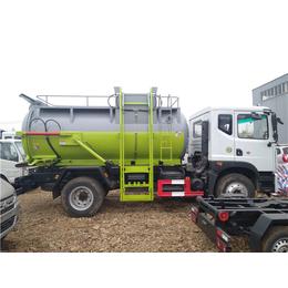 载重10吨餐厨垃圾车全密闭收集泔水专用车