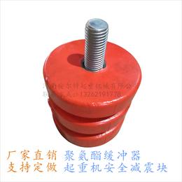 JHQ-A-2型 80mm聚氨酯缓冲器 安全门吊防撞缓冲器