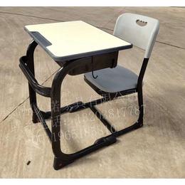 商丘学校课桌椅 商丘弧形课桌椅 商丘课桌椅图片