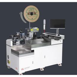 自动穿胶壳机-穿胶壳端子机-单头穿胶壳机 GL-1801