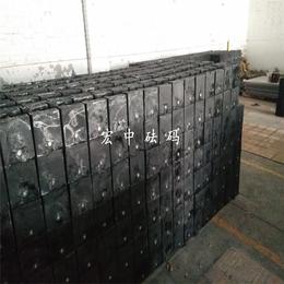 海西20公斤带调整腔砝码 20kg黑色砝码