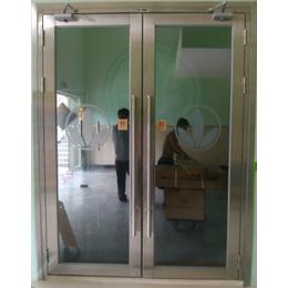 供应山西甲级不锈钢大玻璃防火门产品创新