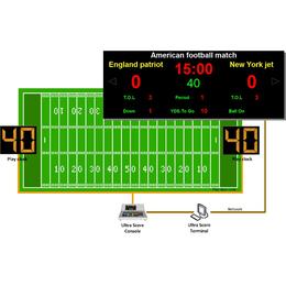 凯哲-美式橄榄球记时记分软件