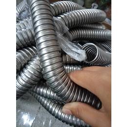安防监控穿线管 单扣镀锌金属蛇皮管规格尺寸