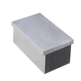 昆二晶风冷散热器 任意定制1060铝系列