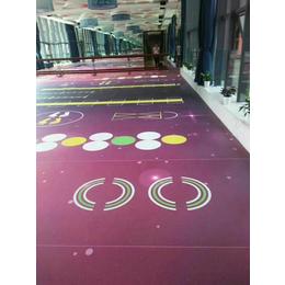 供应亚博国际版健身房地垫功能地胶塑胶地板PVC运动地板场
