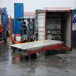 绍兴2.2x5m-10t电子小型汽车地磅秤