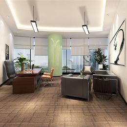 暖色房装修办公室温馨办公环境