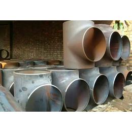宿迁DN600碳钢有缝焊接三通坤航精工制造