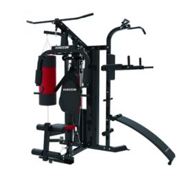 大型多功能健身器材 家用组合力量综合训练器械 健身房三人站