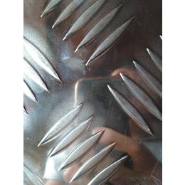 国标5754五条筋花纹铝板 耐磨5056五条筋防滑铝板厂家