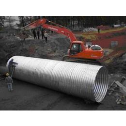 金属波纹涵管-小型涵洞的设计以及选材要求