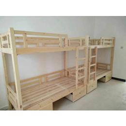 实木双层床 厂家生产