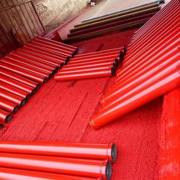 中联3米无缝低压地泵管125地泵管子输送混凝土管道厂家价格