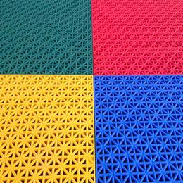 天津幼儿园室外悬浮地板防滑悬浮式拼装地板户外塑料运动地板