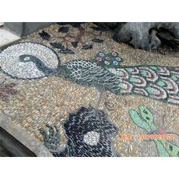 鹅卵石道路、申达陶瓷厂(在线咨询)、鹅卵石