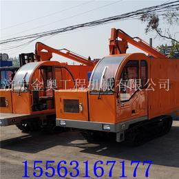 金奥5吨履带装载运输车 油耗低履带运输自卸车