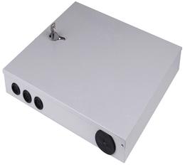 抱杆式壁挂式24芯冷轧板 光纤分纤箱分光箱配线箱系列