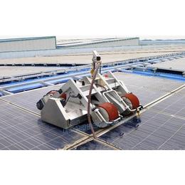 太阳能板脏了怎么清洗_德瑞智能光伏组件清洗qy8千亿国际