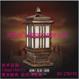 天津大昌厂家直供欧式室外方形柱头灯花园别墅防水围墙灯缩略图