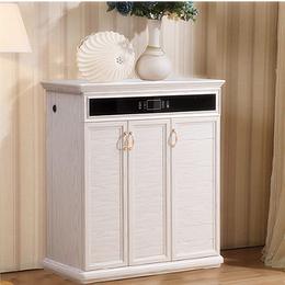 欧式简约铝合金橱柜门板 定制全铝鞋柜家具铝材批发