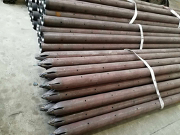 管材实体厂家河北渠成安全生产声测管钢花管注浆管