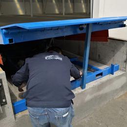 6吨登车桥 货台嵌入式调节板报价 星汉台边固定升降台报价