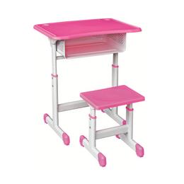 HL-A1913塑料升降课桌椅