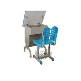 HL-A1939注塑包边课桌椅