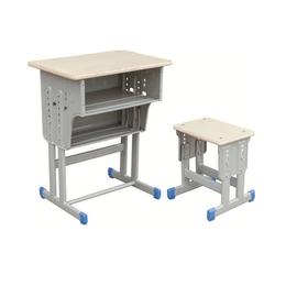 HL-A1950多层板双层双柱课桌小方凳