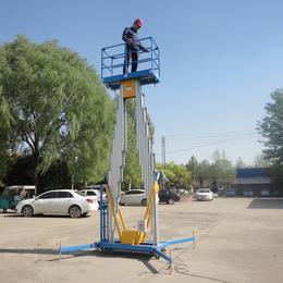 6米双柱铝合金升降平台液压升降机高空作业平台缩略图