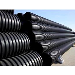 圣大管业厂家直销钢带增强PE螺旋波纹管 PE钢带管 量大从优