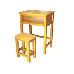 HL-A1954单人实木桌带小桌