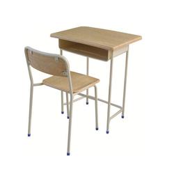 HL-A1959外贸版单人连体课桌椅