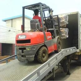 6吨登车桥 货台嵌入式升降台设计 石狮市集装箱装卸过桥报价