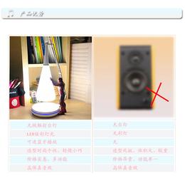 无线充创意音箱 家居产品音乐台灯