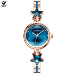 鑫柏琴厂价便宜又流行树脂简单优雅女士手表圣诞礼物