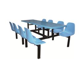 HL-A19107八位玻璃钢靠背餐桌