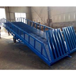 金力机械品质保证-液压装卸平台斜坡定做