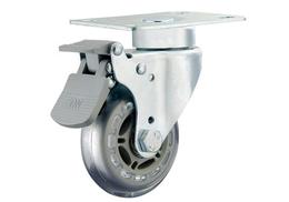 3寸医疗镀铬丝杆活动脚轮-中山业亿脚轮厂家缩略图