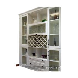 富越白色带隔窗高端壁柜缩略图