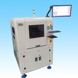 ATM-250N全自动高速贴标机 PCB自动贴条码贴辅料机