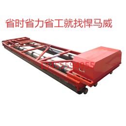 混凝土滚轴摊铺机 三滚筒路面摊平机 辊轴桥面整平机