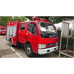 蓝牌东风多利卡1吨水罐消防车价格