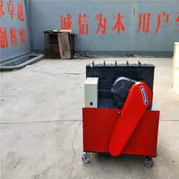 单县架子管修复机钢管调直机价格-鑫茂机械(图)